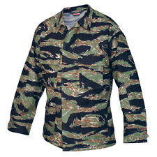 Vietnam Tiger Stripe Camo BDU Uniform Men's Mil-Spec Jacket by TRU-SPEC 1590