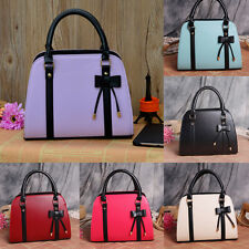 NEW Fashion Women Lady Leather Messenger Handbag Shoulder Bags Totes Purse Gifts