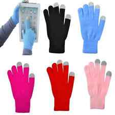 Charm Unisex Magic Touch Screen Gloves Smart Phone Tablet Knit Warmer Mittens FT