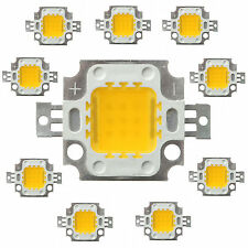 DC 9-12V 10W Warm White High Power SMD LED Light Lamp Bead Bulb Chip 1/5/20/50pc