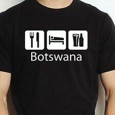 BOTSWANA EAT SLEEP DRINK BOTSWANA PERSONALISED T SHIRT