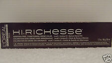 Loreal HI RICHESSE Creme Hair Color 1.7 oz~Lot Of 10~WORLD WIDE FREE SHIPPING
