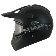 SHARK EXPLORE-R FULL FACE OFF-ROAD MX HELMET MATT BLACK + FREE DARK VISOR