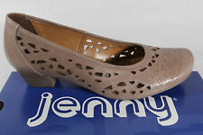 Jenny by Ara Court shoes, Leather, pepper, Width G, Leather footbed NEW