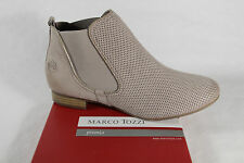 Marco Tozzi Ankle Boots, Boots, Boots, beige, Real leather NEW