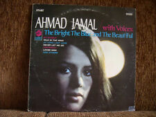 ahmad  jamal   the bright  the blue and the beautiful  lp