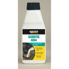 Everbuild 500g Caustic Soda Powder - Unblock Drains
