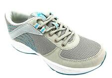 Trims Sole Tona Women's Grey/blue Lace Up Fitness Toning Workout Trainers New