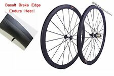 38mm clincher 25mm width carbon wheelset 700C road bicycle full carbon clincher