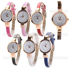 Women's elegant quartz watch Lady Round Quartz Analog Bracelet Wristwatch GIFT