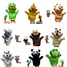 2pcs Mix Kids Animal Finger Puppets Plush Soft Doll Development Baby Hand Toys