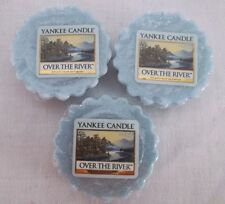 YANKEE CANDLE OVER THE RIVER TARTS X3