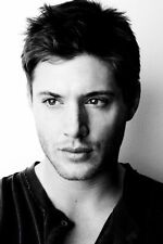 "Jensen Ackles Actor Star Fabric poster 20"" x 13"" Decor 02"