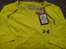 """UNDER ARMOUR """"VENT"""" TRAINING FITTED SHIRT XL L MEN NWT $39.99"""