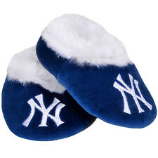 New York Yankees Infant Bootie Slipper Forever Collectibles, Unisex- Navy Blue