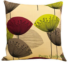 Sanderson Dandelion Clocks Blackcurrant & Lime Cushion Cover
