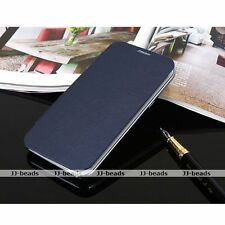 PU Leather Flip Cover Skin Hard Case For Samsung Galaxy Note II 2 N7100 Gift