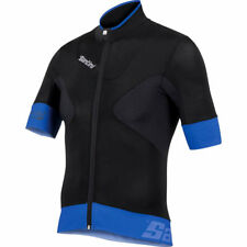 SANTINI SMS PHOTON SS ROAD BIKE JERSEY BLACK 2016