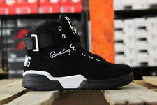 EWING ATHLETICS 33 HI BLACK/WHITE SUEDE SZ 5-13 BRAND NEW 1EW90013-018 MENS