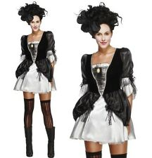 Ladies Baroque Fantasy Fancy Dress Costume Masquerade Ball Outfit by Smiffys New