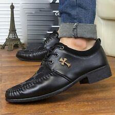 Fashion Korean Suede Leather Breathable Formal Business Ankle Boots Men's Shoes