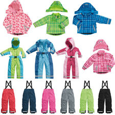 Childrens Kids Winter Clothes warm jacket Ski Overall Pants Childs Snow Ski Suit