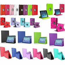 360° Rotating Smart Stand Leather Case Cover Pouch For Various Apple iPad Models