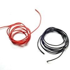 10 12 14 16 20 22 Gauge AWG Black Red 100cm (3.3 FT) Flexible Silicone Wire HIYG