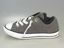 Converse AllStar Kids CT STREET OX CHARCOAL 632514C Leather + new + all sizes