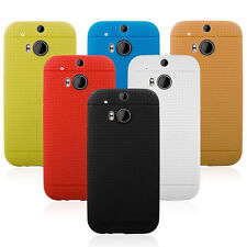 Eyelet Plastic TPU Case Cover Skin Skin Shield TPU Cover case for HTC ONE M8 NEW