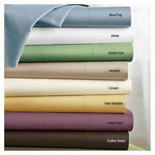 Organic Cotton Brand New Bedding Set All sOLID Color & Size & FREE FAST SHIPPING
