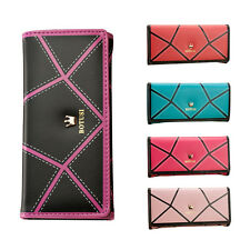 Fashion Women Credit ID Card Long Crown Leather Clutch Purse Handbag Wallet