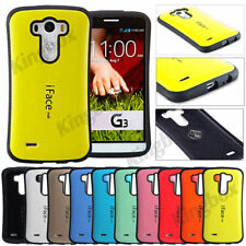 Slim iFace Mall Hybrid Anti-Shock TPU Rubber Protection Case Cover For LG Phones
