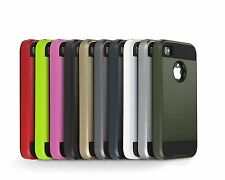 New iPhone 4 4S 5 5S SE 6 6+Plus TPU Rubber Gel PC Rubber Phone Clear Cover Case