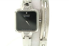 Ladies Citizen EX1200-64E Eco-Drive Crystal Accented Bracelet & Watch Set