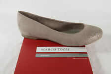 Marco Tozzi Ballerina, beige/ gold, Synthetic NEW