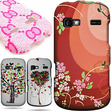 Protective Hard Snap On Design Phone Cover Case for LG Rumor Reflex / Xpression