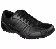 77038 Skechers Men's ELSTON SR Work Shoes Black BLK