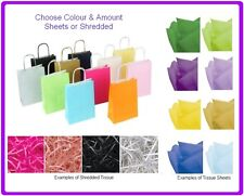 Cheap Party Loot Bags - Wedding Favours - Birthday Gift Bag - Tissue / Shredded