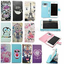 Flip Synthetic Leather Skin Cover Stand Wallet Pouch Case For Various Cell Phone