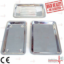 Professional Dental Instrument SCALER TRAY Dish Dentistry Lab TOOL 3 Models CE