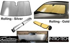 Suzuki SILVER or GOLD Custom Fit Sun Shade Windshield Heat SunScreen Shield
