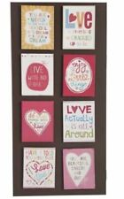 1x Inspirational Affirmation Fridge Magnets Words Saying Love Live Dream 10x8cm