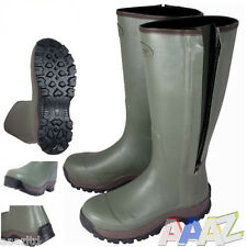 Jack Pyke Countryman Wellington Boots Neoprene Lined 6-12 + Optional Boot Bag