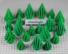 LEGO - Pine Trees Large & Small Lots - Forrest Fir Plant Green Foliage Christmas