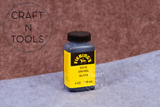 Fiebings Edge Enamel Finish 4oz.118ml (Black) fiebing's leather edge smooth