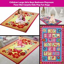 CHILDRENS LARGE GIRLS BOYS BEDROOM PLAYROOM FLOOR KIDS PLAYMAT RUGS SOFT CARPETS