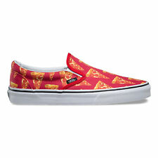 Vans - Classic Slip On | Unisex Shoes- New | Late Nite - Mars Red / Pizza