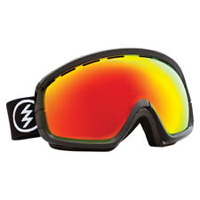 Electric Egb2s Unisex Goggles Ski - Gloss Black 13 ~ Bronze Red Chrome One Size