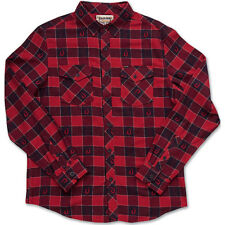 Dakine Up Country Mens Shirt Long Sleeve - Cardinal All Sizes